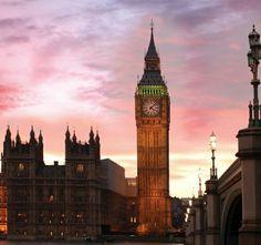 London city.  Big Ben