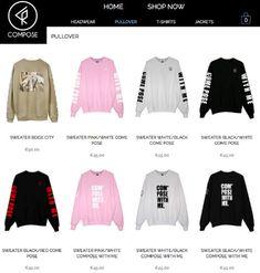 Ein Blick in den Online-Shop von Compose Clothing (Screenshot, Quelle: Composeclothing.de)