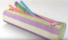 Πώς να φτιάξετε μία φοβερή κασετίνα ή τσαντάκι με ρολό χαρτιού και χωρίς ράψιμο! - {ΒΙΝΤΕΟ}