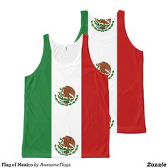 Flag of Mexico All-Over Print Tank Top