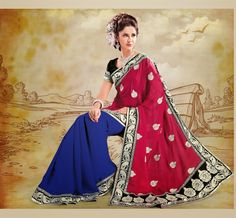 Designer Sarees are one of the most exclusive sarees. In India and related areas of India, there are many branded garment industries are there which are manufacturing designer sarees