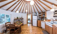 Yurt Interior, Yurt Living, Living Room, Yurt Home, Round House, Sustainable Living, My Dream Home, Future House, Building A House