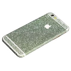Green Glittery iPhone 6 Plus / iPhone 6S Plus Full Body Sticker Wrap
