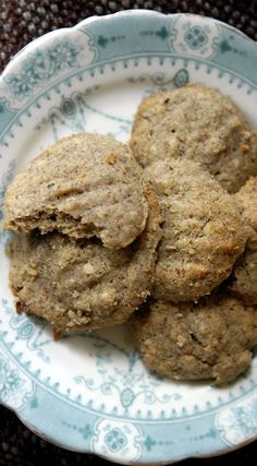 Easy Peasy Organic - Real Food, Real Life: Buckwheat and Butter Cookies