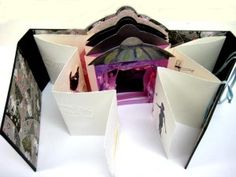 Ballet partly open tunnel book.Christine jpg