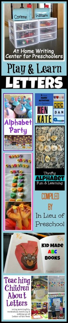 7 Activities to Play & Learn Letters