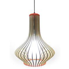 Leuchte Opi O-lamp Rot, 99€, jetzt auf Fab.