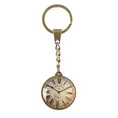 Vintage clockface keyring from Transomnia