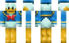 Donald Duck - Minecraft Skins