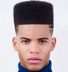Great Short Haircuts For Men or Black Men Hairstyles Flat Top . Top Haircuts For Men, Black Men Haircuts, Black Men Hairstyles, Top Hairstyles, Cool Haircuts, Men's Hairstyle, African Hairstyles, Braided Hairstyles, Top Fade Haircut
