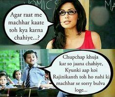 Hahahahahah ... Bechari teacher :)