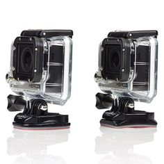 GoPro Accesssories Curved + Flat Adhesive Mounts