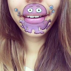 Awesome Lip Art By Makeup Artist Best of Web Shrine