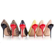www.femmestep.com Aklınızı ayağınızdan almaya geliyor - These heels are gonna walk all over you... <3 Nancy Sinatra