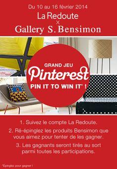 Participez à notre Jeu Pinterest !