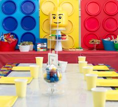 Check out this Totally Awesome and Easy Lego Birthday Party! See more party ideas and share yours at CatchMyParty.com