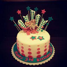 barbie as princess power cake