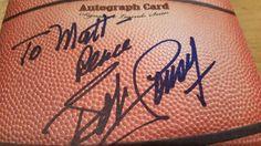 Basketball Hall of Famer Bob Cousy Autographed Rackrs Card - Boston Celtics