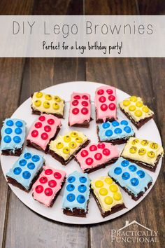 Make Your Own Lego Brownies!