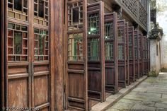 Open and Closed Doors - Wuzhen, China