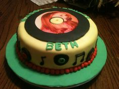 Music B'day Cake Made by momma @Susie Ward