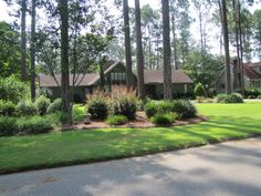 ranch house landscaping | ... Divine Panoramio Photo Of Formal Landscaping For This More Modern But