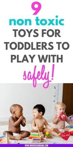 Great wooden toys for both boys and girls. These activities are perfect for learning and developing your kids fine motor skills. #toys #nontoxic #woodentoys #brownskinmama #educationaltoys