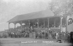 Defiance County ohio Grandstand at Fairgrounds