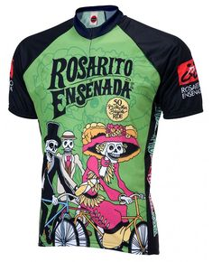 Rosarito Ensenada Day of the Dead Mens Cycling Jersey Large     Visit the  image link more details. c88cf60c8