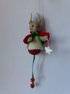 Wipstaartje kerstbal - pakket van Atelier Duimelotje