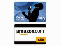 $50 Amazon or iTunes Gift Card Giveaway - Giveaway Promote Open to: United States, Canada  Ending on: 07/24/2014