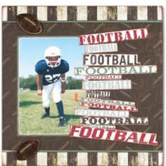 This would be good to use for all sports done in a school year with 3 small pics.  Would be Track, Basketball and Cross Country for my son.