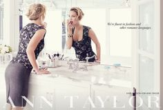We're fluent in fashion and other romance languages | Kate Hudson for Ann Taylor Fall 2013 #chiclifestyle