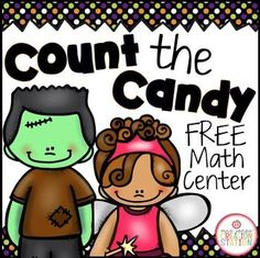 FREE Halloween Counting Math CenterHave the students put the correct number of candies on each Count the Candy Mat.This FREEBIE Includes:Count the Candy Mats (1-20) Candy Counters *************************************************************Customer Tips:How to get TpT credit to use future purchases:*Please go to your My Purchases page (you may to to login).