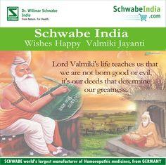 Happy Valmiki Jayanti from Schwabe India.