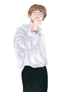both fluff and smut fanarts. Not my fanarts! Bts Taehyung, Taehyung Fanart, Kpop Fanart, V Chibi, Anime Lindo, Kpop Drawings, Bts 2018, Cute Anime Guys, Fan Art