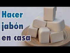 Jabón Casero con Aceite Reciclado o Usado para hacer con niños Manel Ledesma vistas Soap Recipes, Soap Making, Cleaning Hacks, Olive Oil, Homemade, Health, How To Make, Diy, Youtube