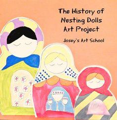 Joseys Art School Episode Russian Nesting Dolls Art Lessons for Kids Art Lessons For Kids, Art For Kids, Around The World Crafts For Kids, Elementary Art, Elementary Education, Art Education, Fun Arts And Crafts, Kids Crafts, Teaching Art