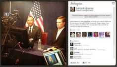 President Barack Obama joins Instagram