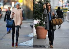 Six Sydney style stereotypes by suburb: which one are you?: Paddington  Style defined: Urban chic What they wear: Jac and Jack knits, Sambag leather leggings, oversized Givenchy Antigona bags and Isabel Marant concealed wedges Style icons: Miranda Kerr and Jessica Hart