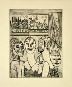 Lasar Segall, Carnaval, 1926.  Art Experience NYC  www.artexperiencenyc.com