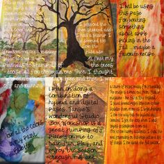 Art Journaling 101: Fall and Halloween Journals with Bonus this Evening! *Updated | Studio Tangie