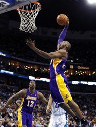 #celeb #milestone Kobe Bryant eclipses 30,000 career points, Lakers beat Hornets 103-87 in New Orleans on 12/5/12