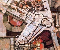 Frantisek Kupka, Drill on ArtStack #frantisek-kupka #art