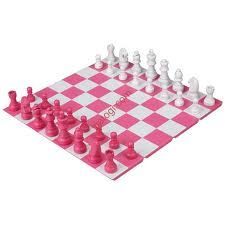 Pink toys and games on pinterest etch a sketch chess sets and pink - Hello kitty chess set ...