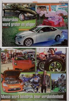 Nelspruit Motorshow Coverage Lowvelder Autodealer 23rd July.