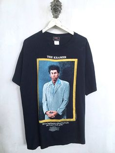 14ccf254a99 Seinfeld shirt 1997 vintage t shirt The Kramer official NBC Seinfeld Shirt