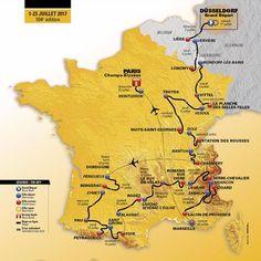 104ème édition de l'évènement mondial France Map, Ville France, Tour France, Paris Champs Elysees, Bike Seat Cover, Chris Froome, Challenge, Tour De France, Veils