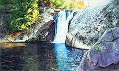 Elk Falls North Carolina