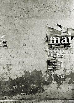 Old billboard / wall